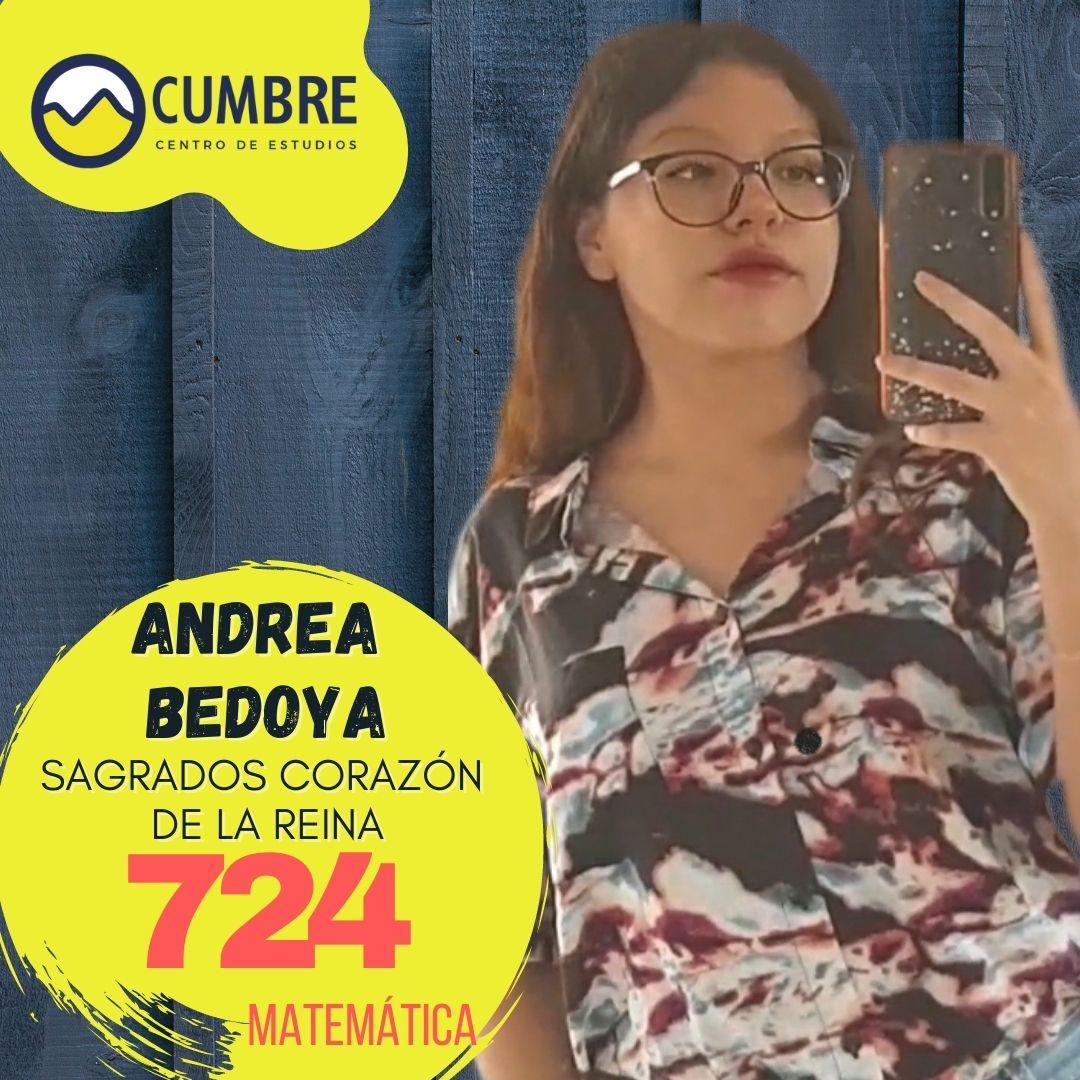 Andrea Bedoya matemática
