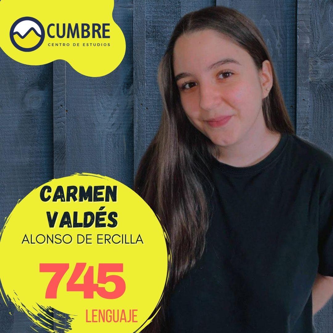 Carmen Valdés-lenguaje