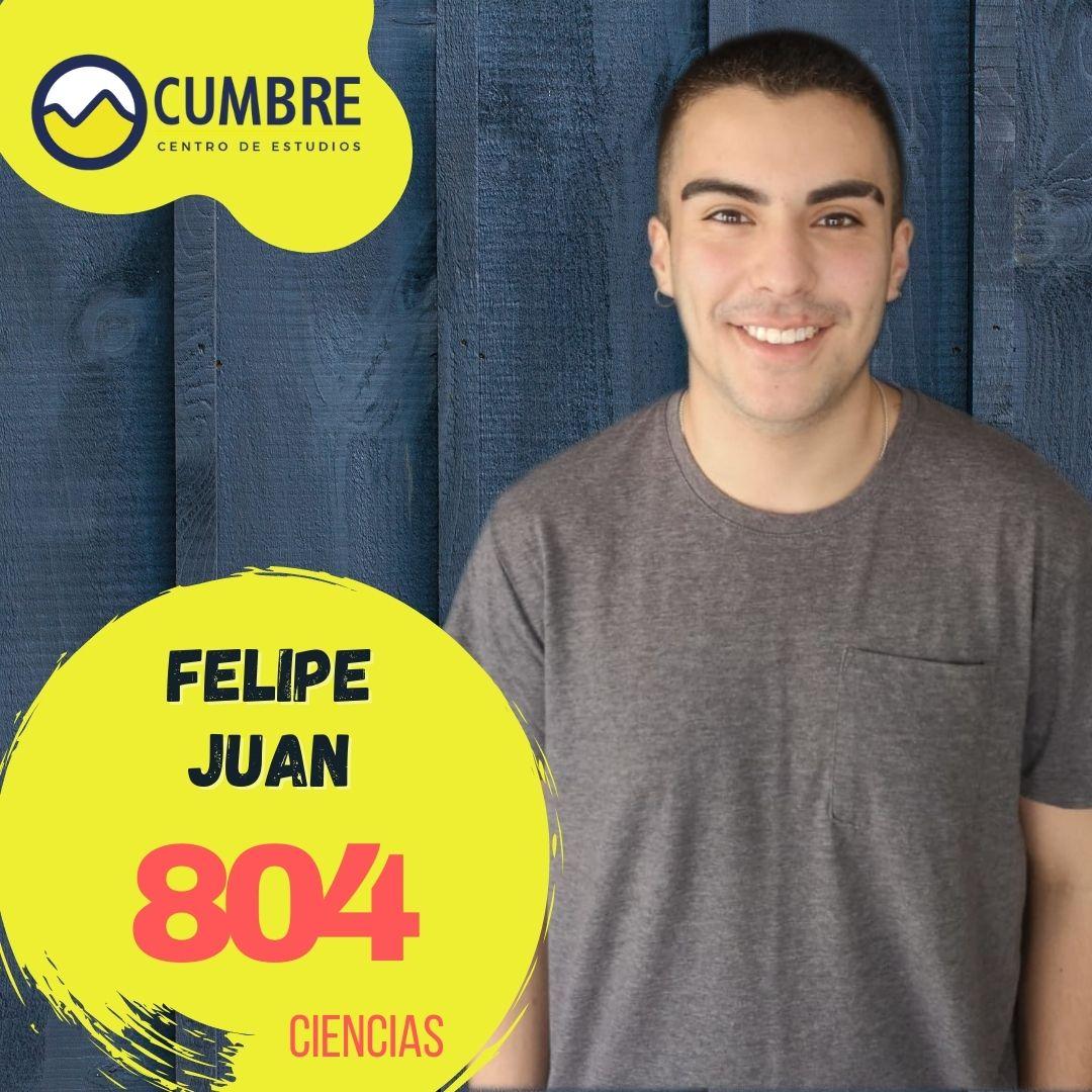Felipe Juan ciencias