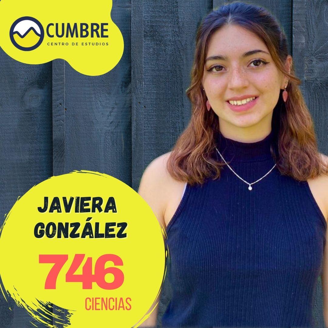 Javiera González ciencias