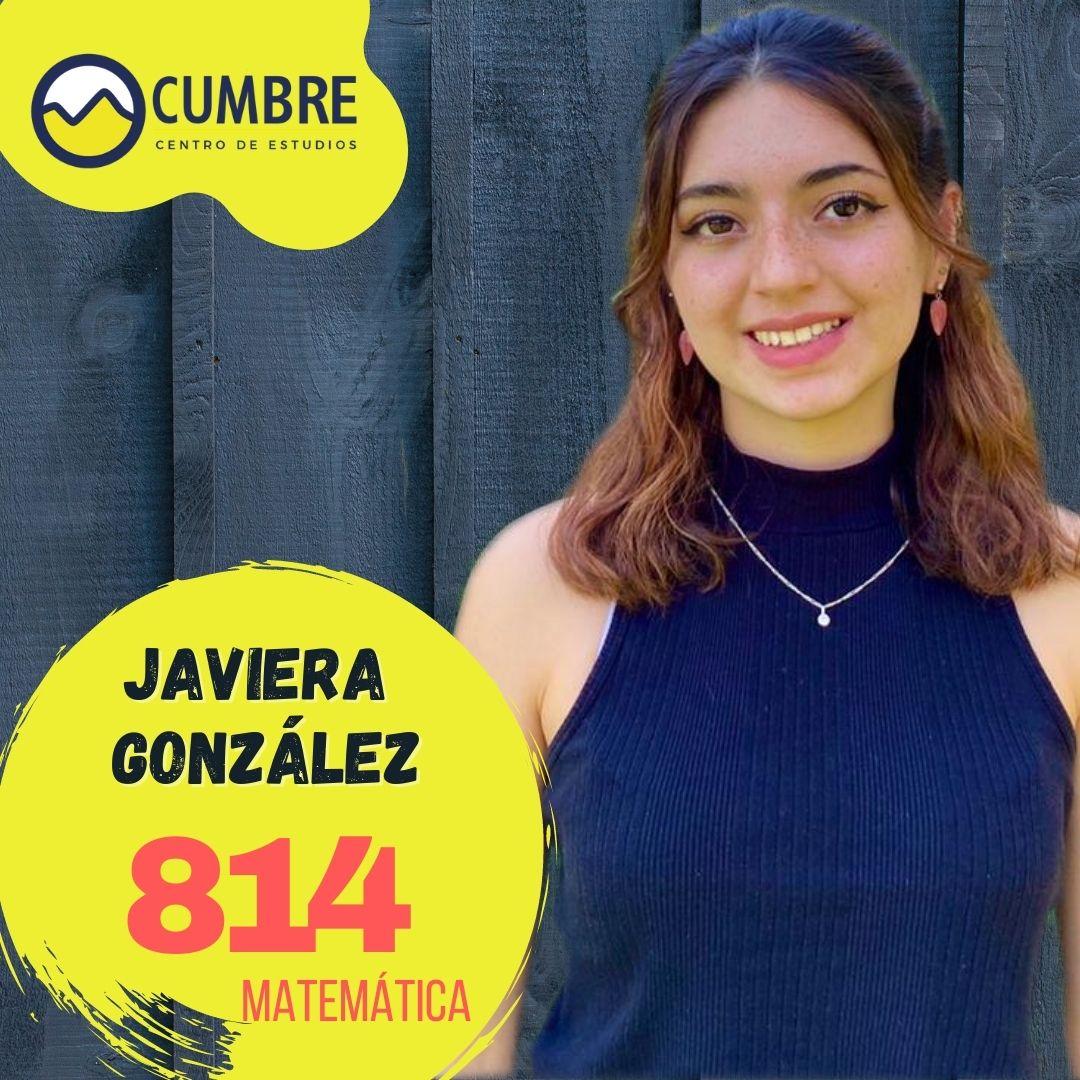 Javiera González lenguaje