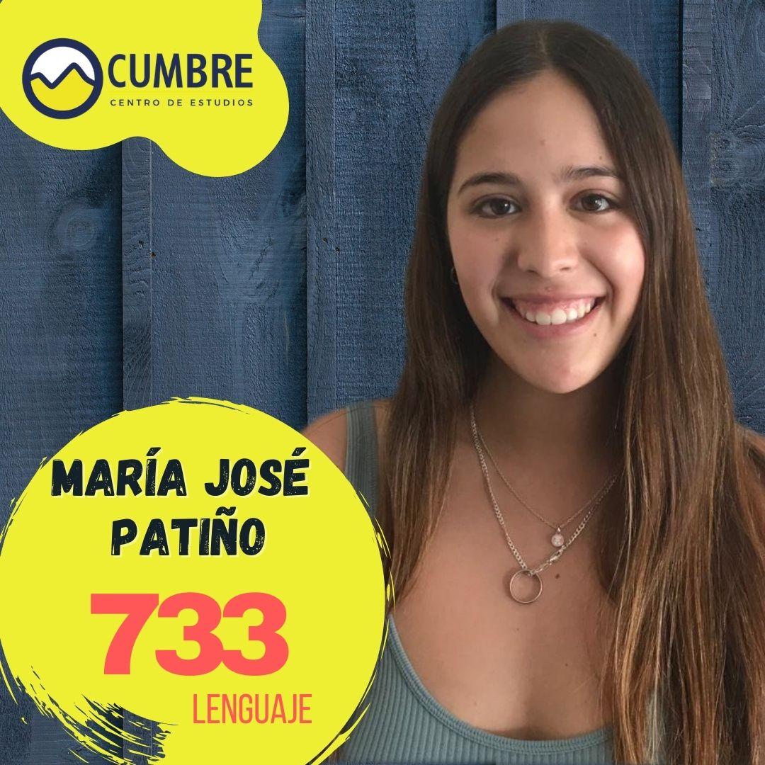 María José Patiño lenguaje